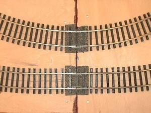 曲線の接続部分(工作中)